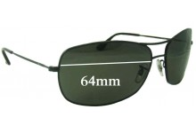 da746d3a7b0 Sunglass Fix Replacement Lenses for Ray Ban RB3322 - 64mm wide