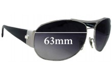 Ray Ban RB3358 Replacement Sunglass Lenses - 63mm across