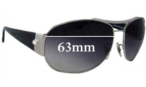 Sunglass Fix Replacement Lenses for Ray Ban RB3358 - 63mm across
