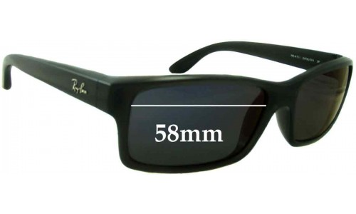 Ray Ban RB4151 Replacement Sunglass Lenses - 57mm - 58mm Wide