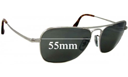Ray Ban RB8034-K Small New Sunglass Lenses - 55mm Wide