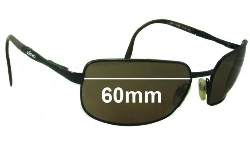 Revo RE3024 Replacement Sunglass Lenses - 60mm Wide Lenses