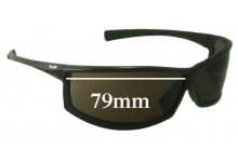 Sunglass Fix Replacement Lenses for Tag Heuer Americas Cup Special Edition 79mm Wide