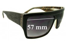 Tsubi Geezer Replacement Sunglass Lenses - 57mm Wide