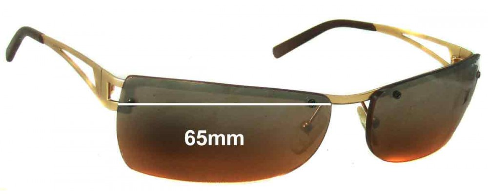 AN3008 Arnette Fullback Replacement Sunglass Lenses - 65mm wide