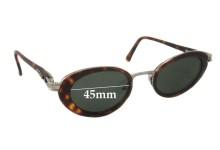 Bill Bass 21040 Replacement Sunglass Lenses - 45mm wide