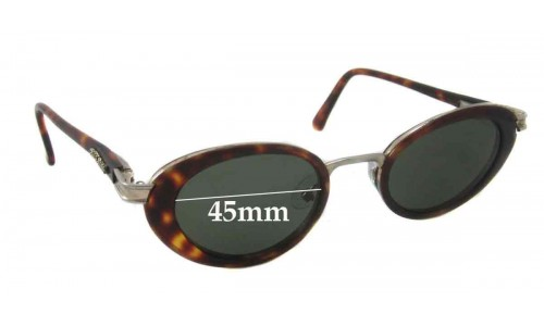 Bill Bass 21040 Replacement Sunglass Lenses - 45mm wide