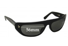 Blinde 767-W New Sunglass Lenses - 56mm wide