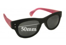 Blinde Unknown Model New Sunglass Lenses - 50mm wide