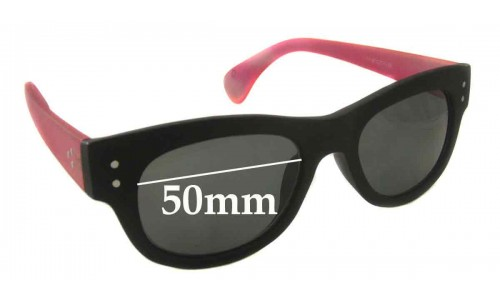 Blinde Unknown Model Replacement Sunglass Lenses - 50mm wide