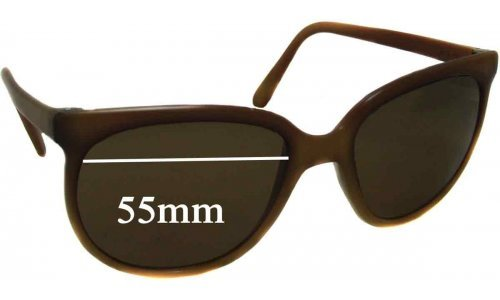 Bolle Brevete Replacement Sunglass Lenses - 55mm wide