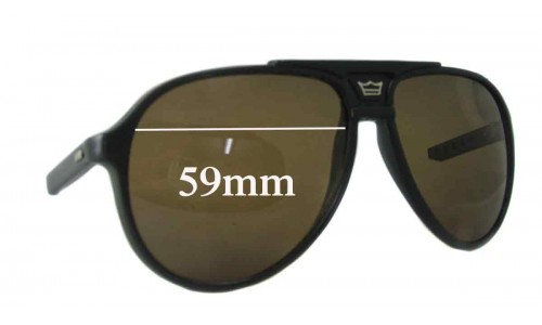Bolle Unknown Replacement Sunglass Lenses - 59mm wide