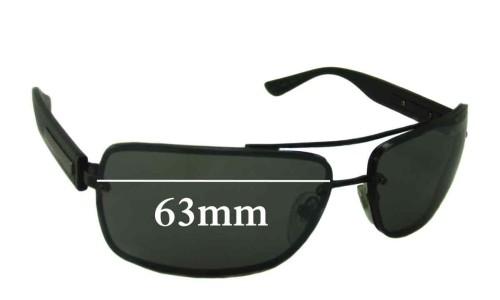Bvlgari 5016 Replacement Sunglass Lenses 63mm wide
