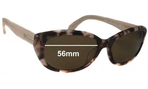 Calvin Klein 4152S Replacement Sunglass Lenses - 56mm wide