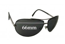 Calvin Klein 914-S Replacement Sunglass Lenses - 66mm wide