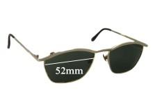 Cara Nova T8298 Replacement Sunglass Lenses - 52mm Wide