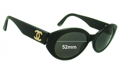 Chanel 03517 Replacement Sunglass Lenses - 52mm wide