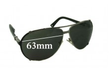 Christian Dior Chicago 2 Replacement Sunglass Lenses - 63mm Wide