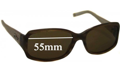 Christian Dior Granville 2 Replacement Sunglass Lenses - 55mm Wide