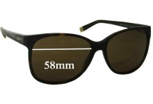 DKNY 4085 Replacement Sunglass Lenses - 58mm Wide