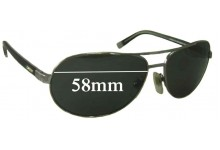 DKNY 5042 Replacement Sunglass Lenses - 58mm Wide