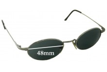 DKNY 7202S Replacement Sunglass Lenses- 48mm Wide