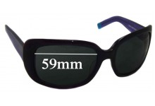DKNY DY4011 Replacement Sunglass Lenses- 59mm Wide