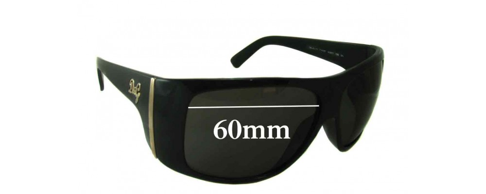 Dolce & Gabbana DG8040 Replacement Sunglass Lenses- 60mm Wide