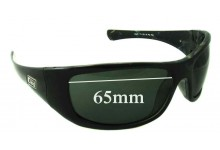 Dirty Dog Gusto Replacement Sunglass Lenses - 65mm Wide