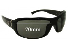 Dirty Dog Unknown Model Replacement Sunglass Lenses - 70mm wide