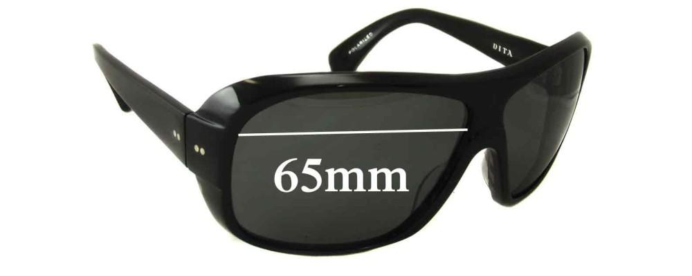 Dita Selector Replacement Sunglass Lenses - 65mm wide