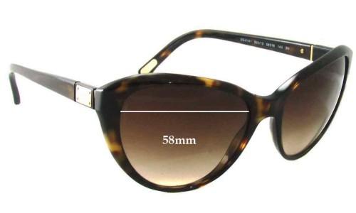 Dolce & Gabbana DG4141 Replacement Sunglass Lenses - 58mm wide