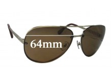 Sunglass Fix New Replacement Lenses for Dolce & Gabbana DG6086 - 64mm Wide