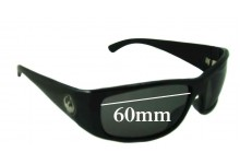 Sunglass Fix New Replacement Lenses for Dragon Dusk - 60mm Wide
