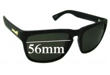 Sunglass Fix New Replacement Lenses for Electric Knoxville - 56mm Wide
