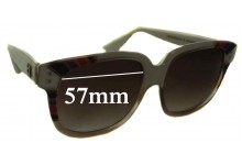 Emmanuelle Khanh 8080 Replacement Sunglass Lenses - 57mm Wide