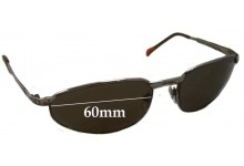 Eye Gear 2514 Replacement Sunglass Lenses - 60mm wide