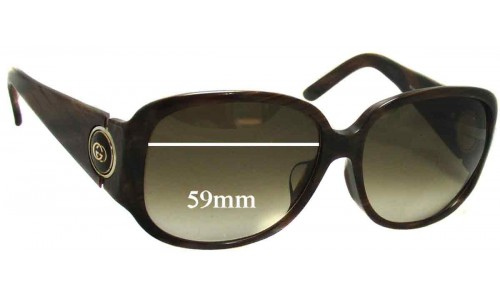 Gucci GG 3114 New Sunglass Lenses - 59mm wide