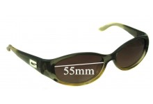 Gucci 2456/S Replacement Sunglass Lenses - 55mm wide