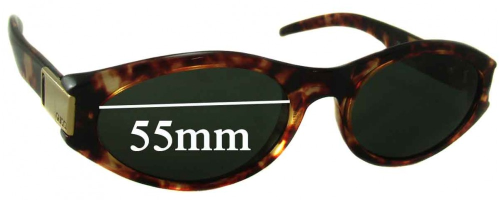 Gucci GG 2411/S Replacement Sunglass Lenses - 55mm wide