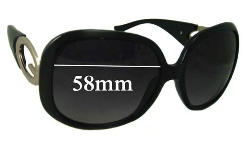 Guess GU7017 Replacement Sunglass Lenses - 58mm Wide