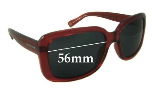 Hugo Boss BO Sun Rx-10 Replacement Sunglass Lenses - 56mm wide