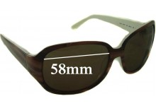 Kate Spade Akira Replacement Sunglass Lenses - 58mm wide