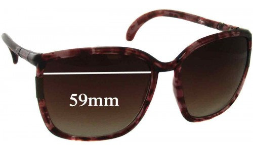 Le Specs Distant Lovers Replacement Sunglass Lenses - 59mm wide