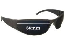 Liquid Eyewear G Replacement Sunglass Lenses - 66mm Wide