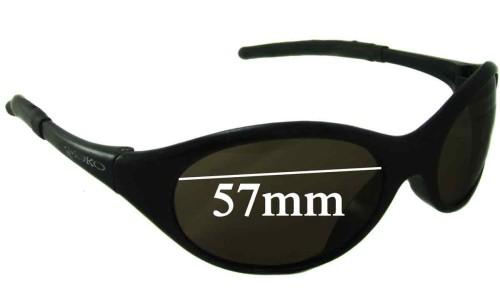 Mako Fat Boy Replacement Sunglass Lenses - 57mm Wide