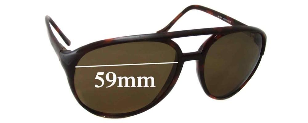 Maui Jim MJ193 Replacement Sunglass Lenses - 59mm Wide