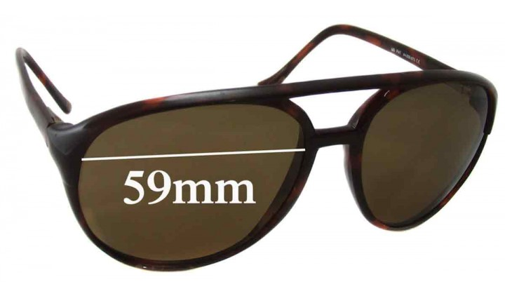 SFX Replacement Sunglass Lenses fits Maui Jim MJ193 59mm Wide