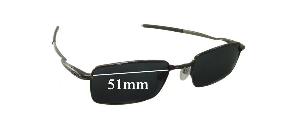 Oakley Kickstand 2.0 Replacement Sunglass Lenses - 51mm wide