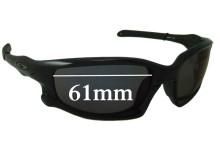 Oakley Split Jacket Replacement Sunglass Lenses - 61mm Wide